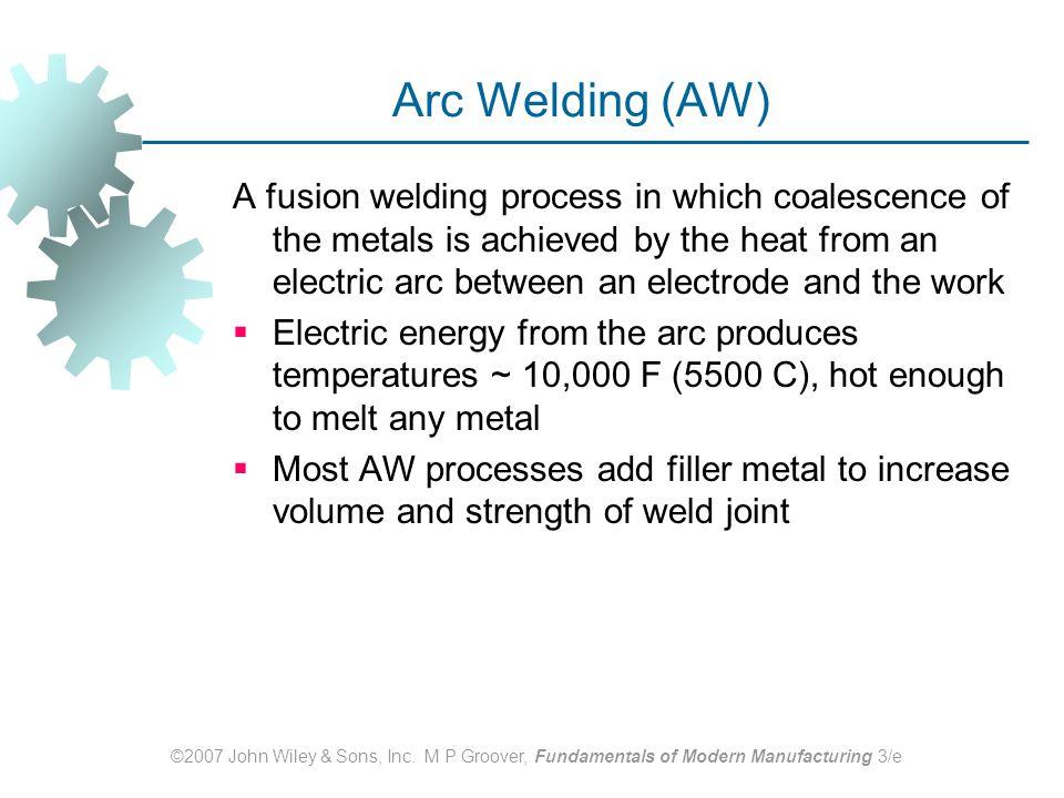 Arc Welding (AW)