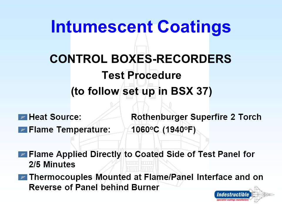 Control Boxes-recorders (to follow set up in BSX 37)