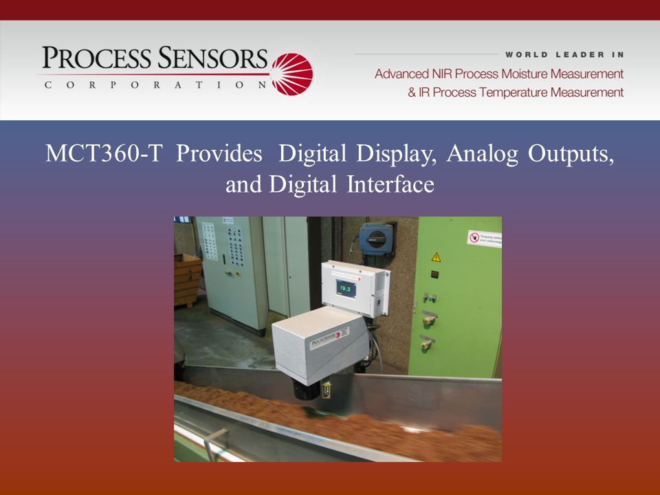 MCT360-T Provides Digital Display, Analog Outputs,