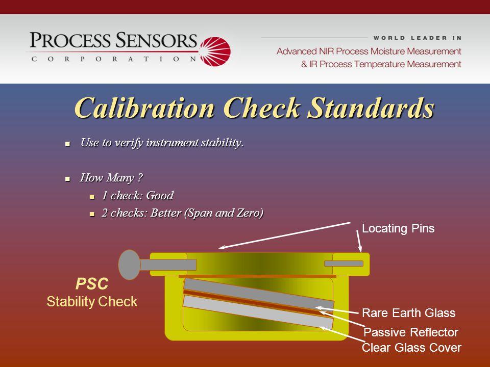 Calibration Check Standards