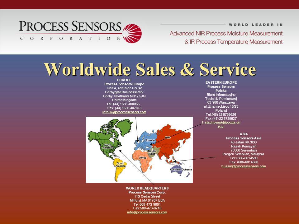 Worldwide Sales & Service