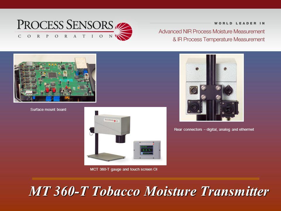 MT 360-T Tobacco Moisture Transmitter