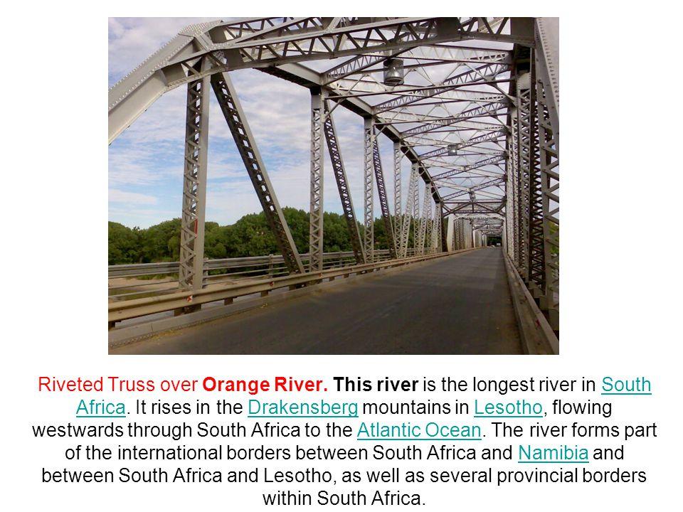 Riveted Truss over Orange River