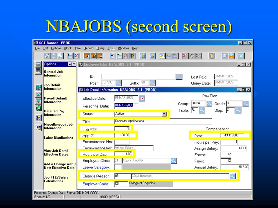 NBAJOBS (second screen)