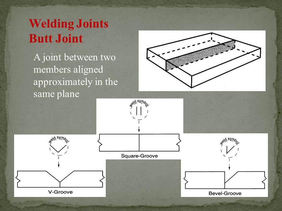 Welding Joints Butt Joint