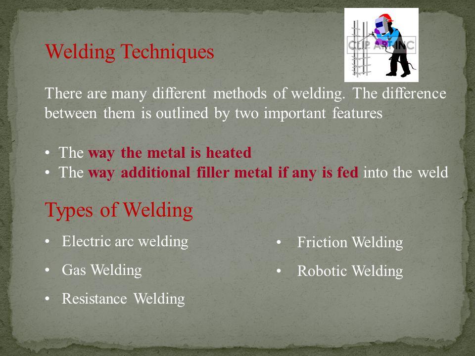 Welding Techniques Types of Welding