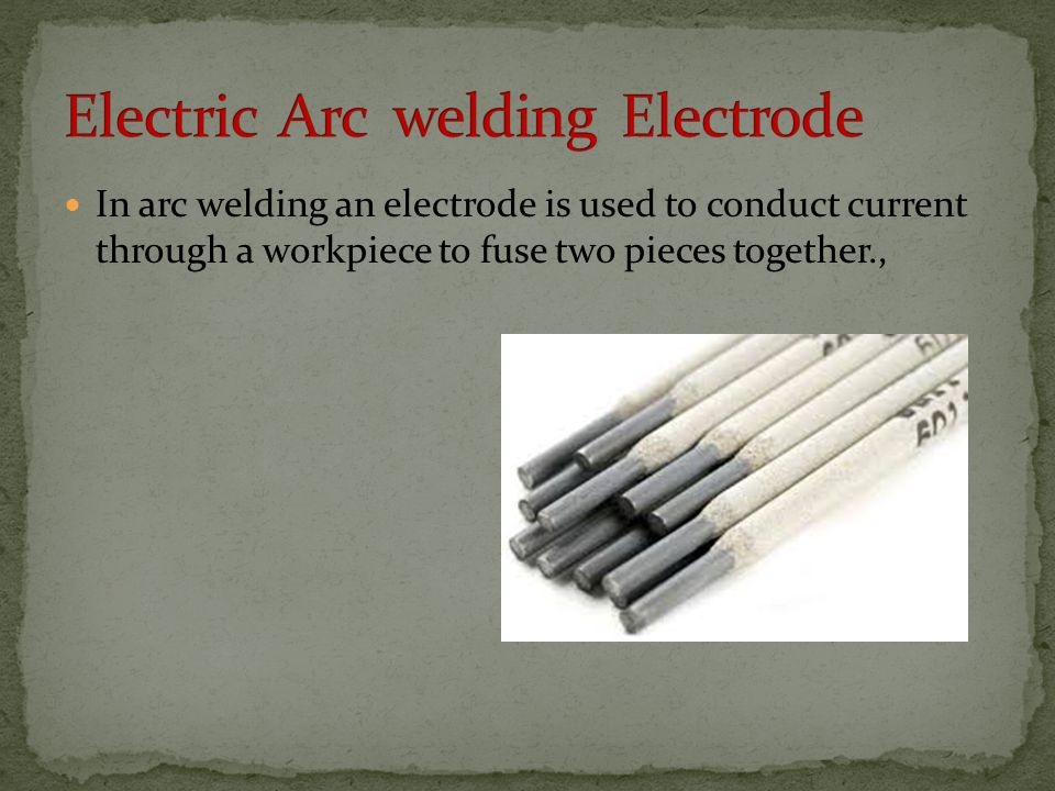 Electric Arc welding Electrode
