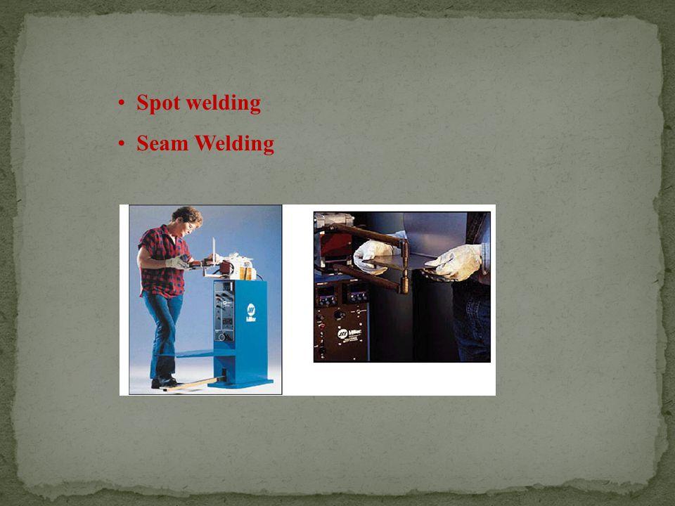 Spot welding Seam Welding