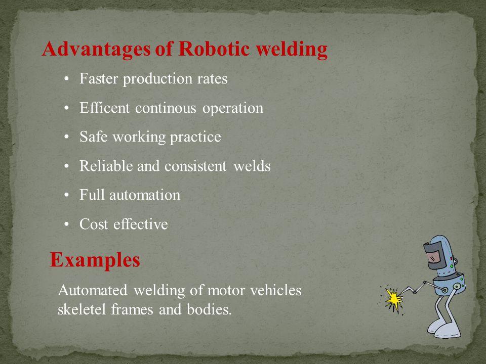 Advantages of Robotic welding