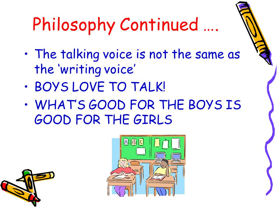 Philosophy Continued ….