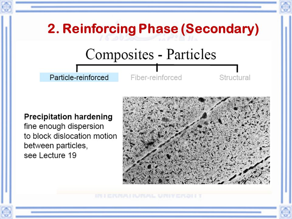 2. Reinforcing Phase (Secondary)