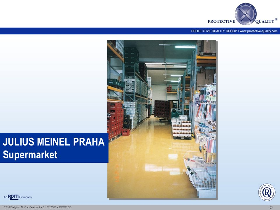 JULIUS MEINEL PRAHA Supermarket