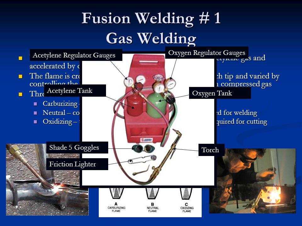 Fusion Welding # 1 Gas Welding