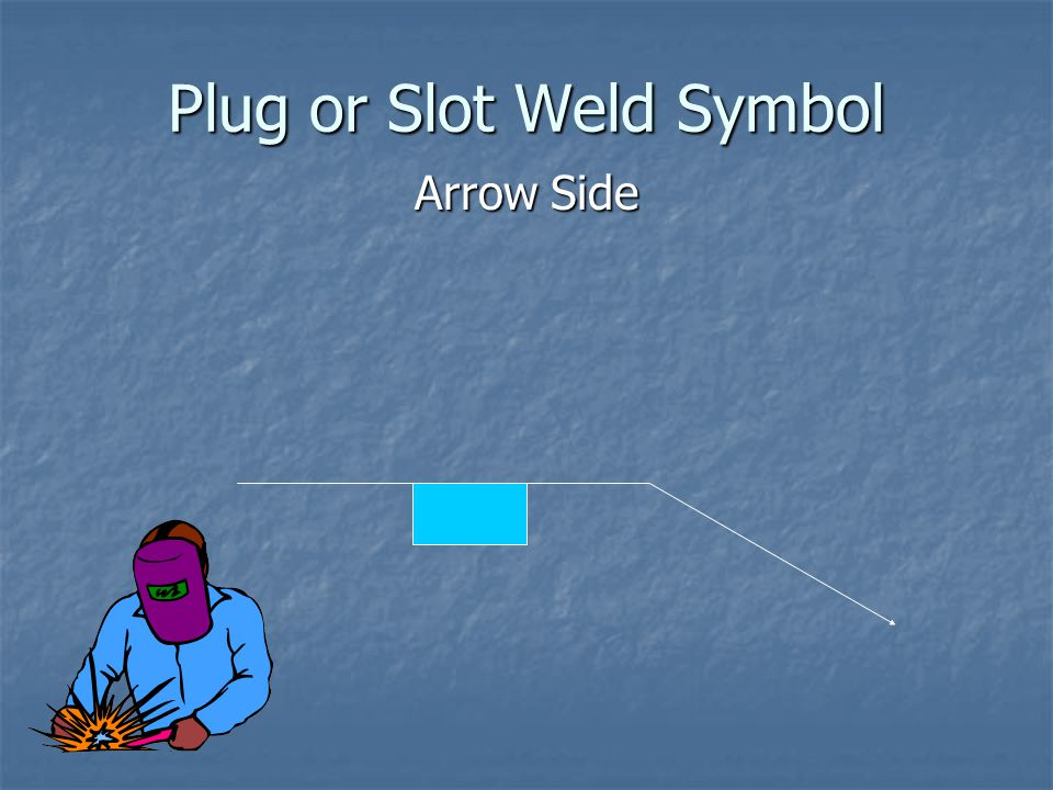 Plug or Slot Weld Symbol