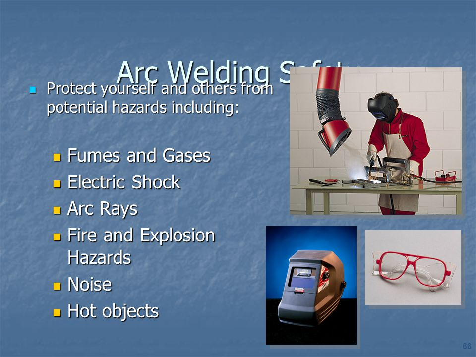 Arc Welding Safety Fumes and Gases Electric Shock Arc Rays