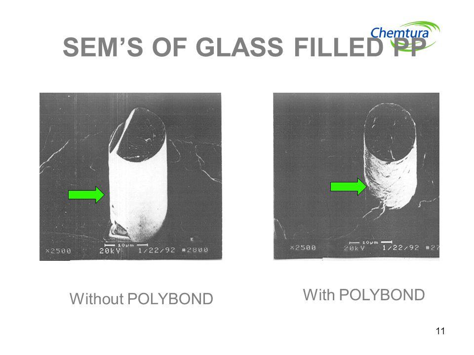 SEM'S OF GLASS FILLED PP