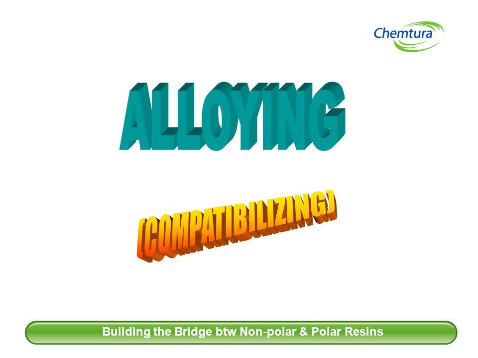 Building the Bridge btw Non-polar & Polar Resins