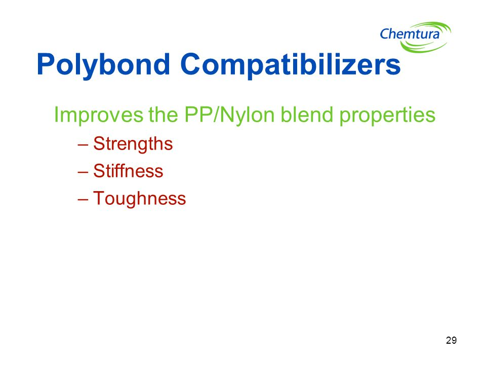 Polybond Compatibilizers
