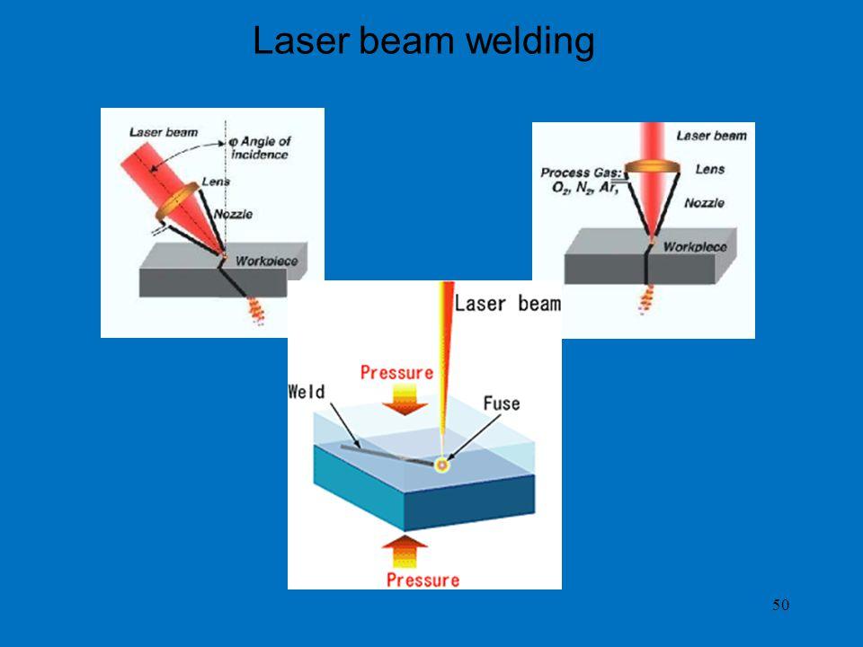 Laser beam welding 50
