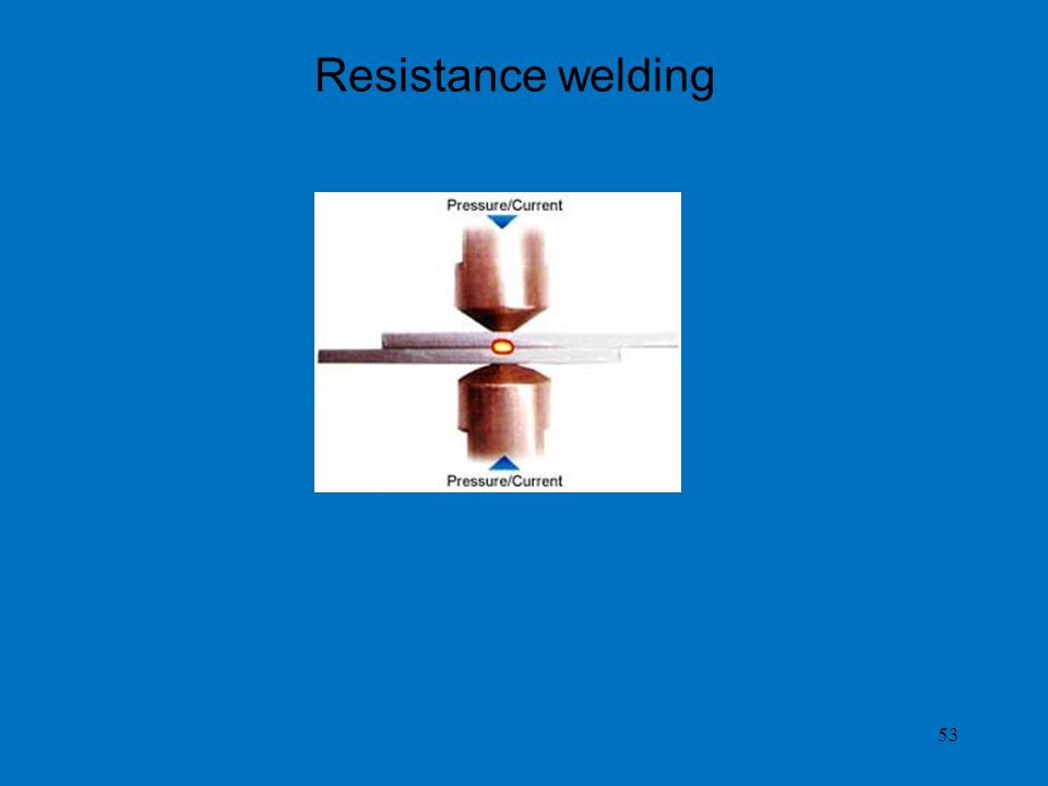 Resistance welding 53