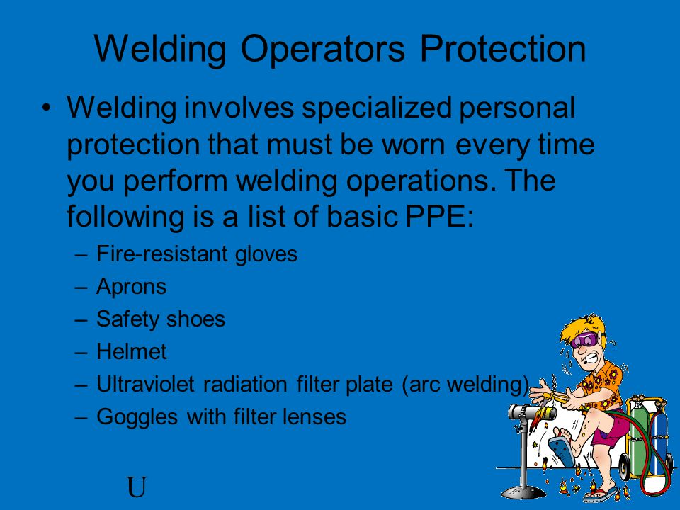 Welding Operators Protection