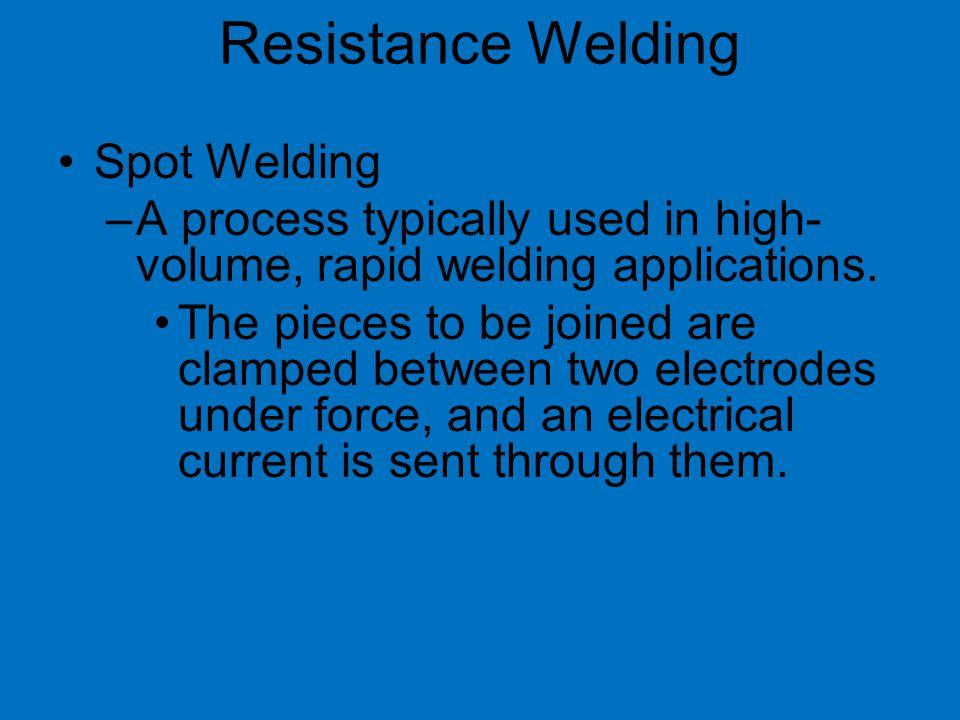 Resistance Welding Spot Welding