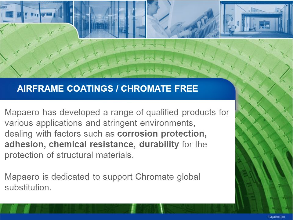 AIRFRAME COATINGS / CHROMATE FREE