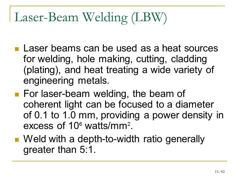 Laser-Beam Welding (LBW)