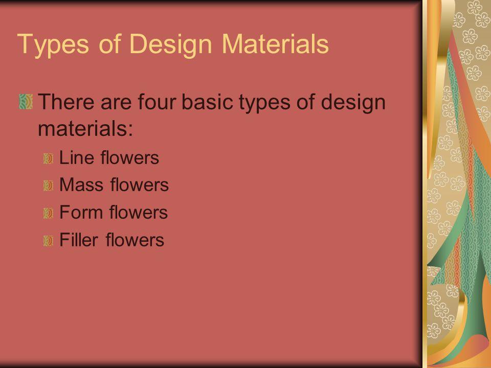 Types of Design Materials