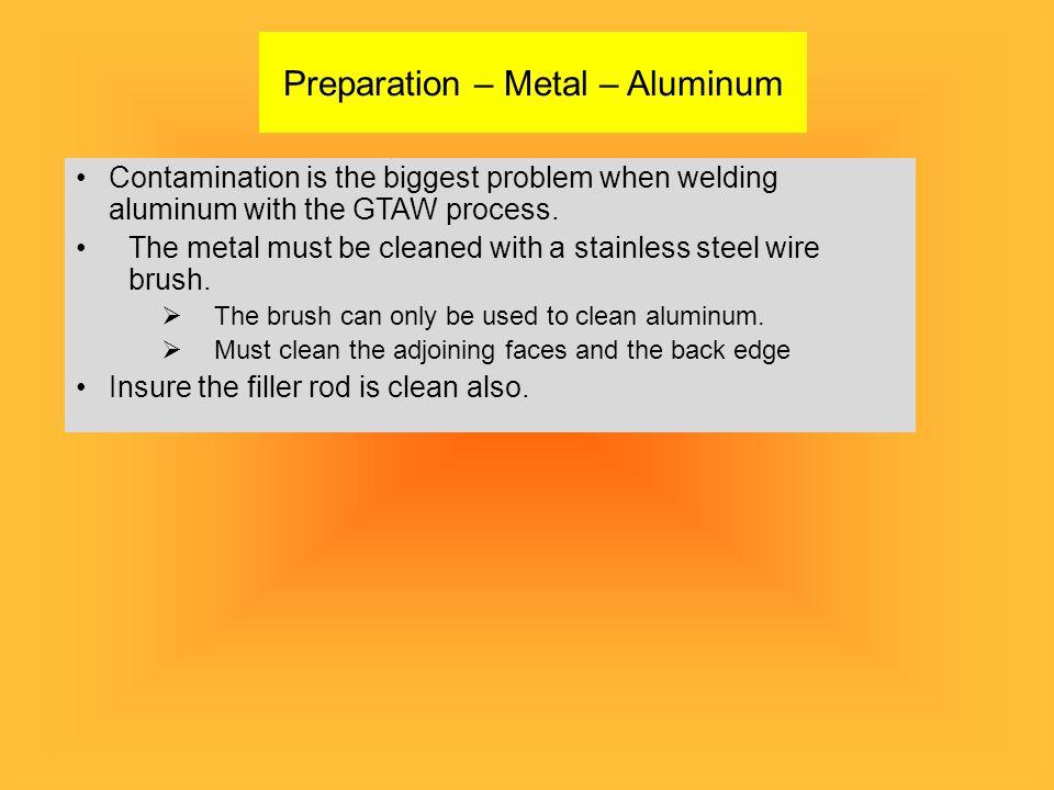 Preparation – Metal – Aluminum