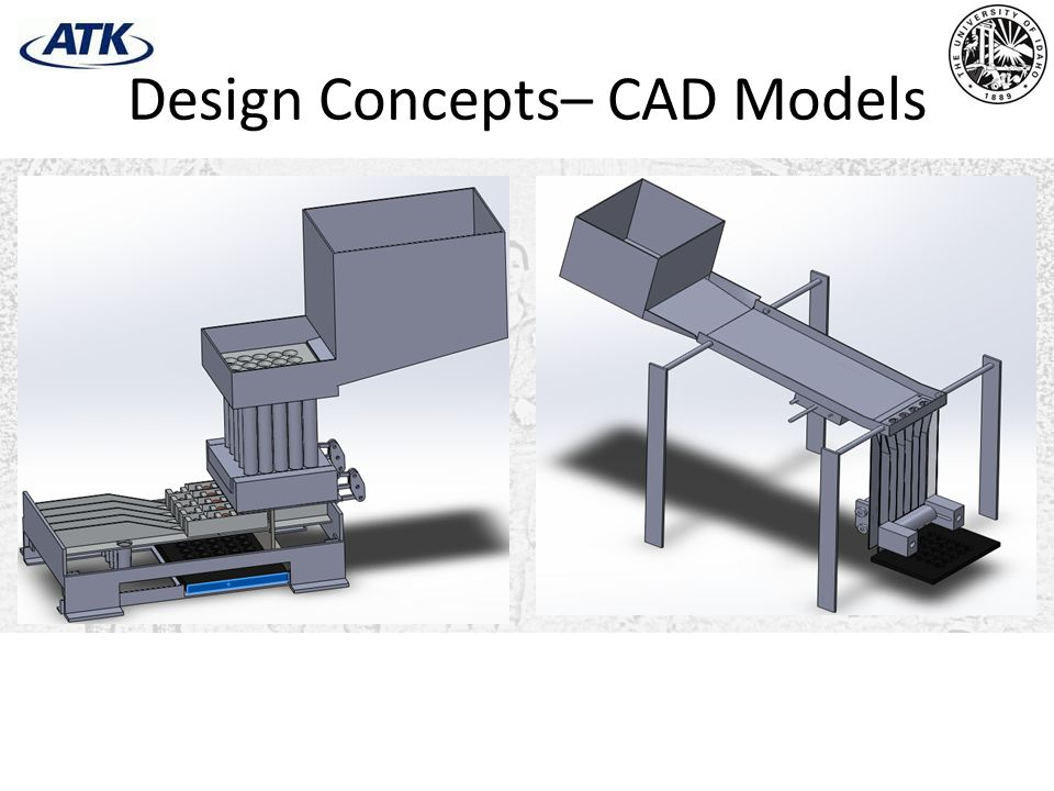 Design Concepts– CAD Models