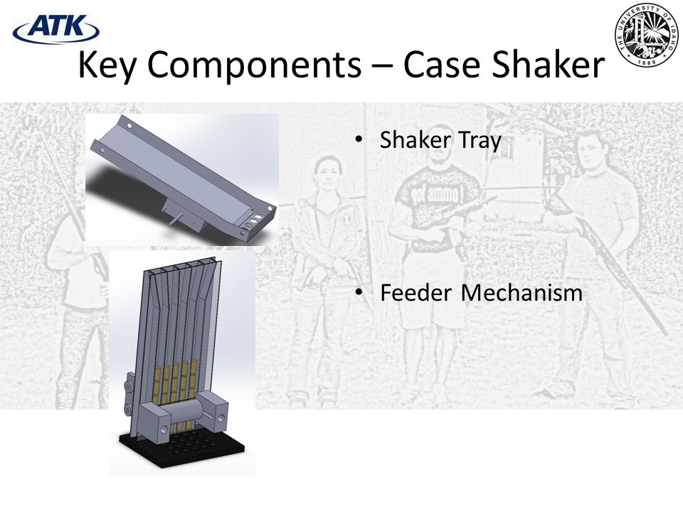 Key Components – Case Shaker