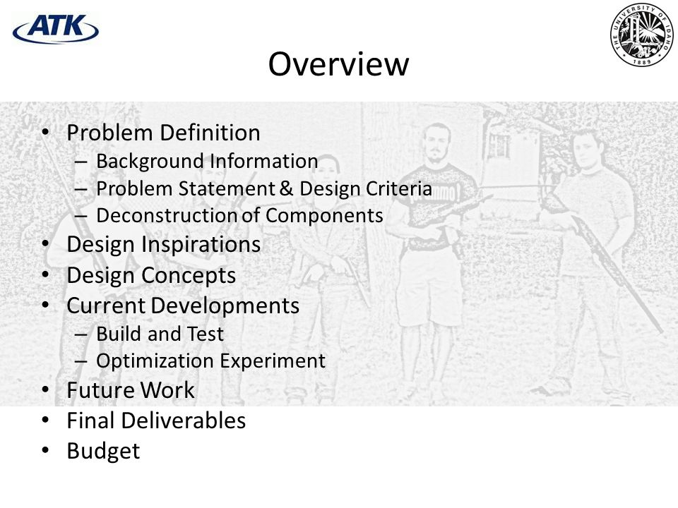 Overview Problem Definition Design Inspirations Design Concepts