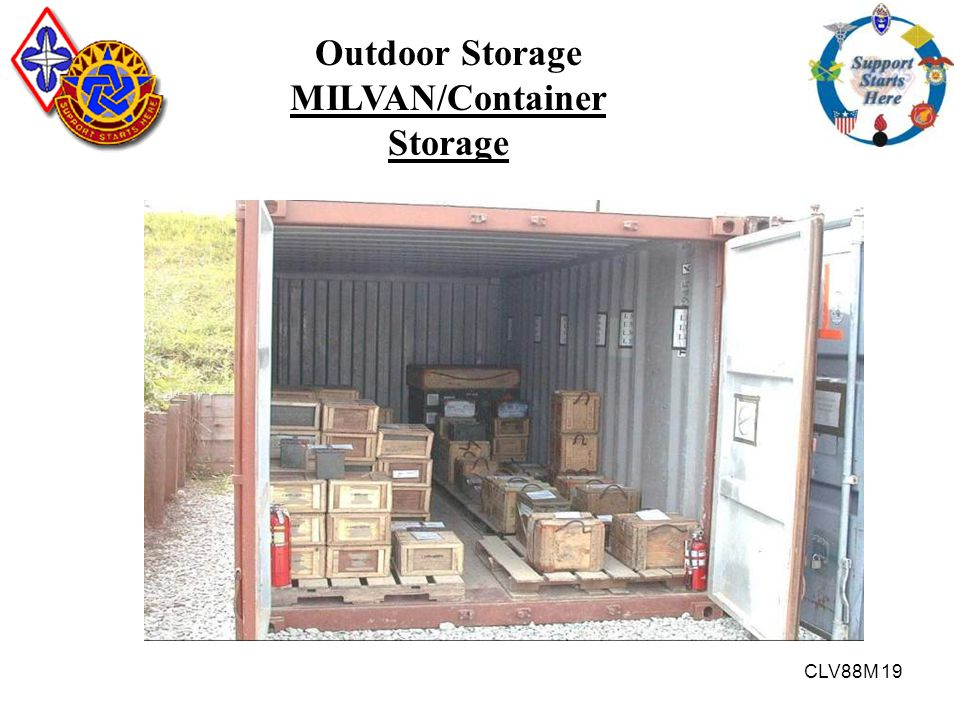 MILVAN/Container Storage