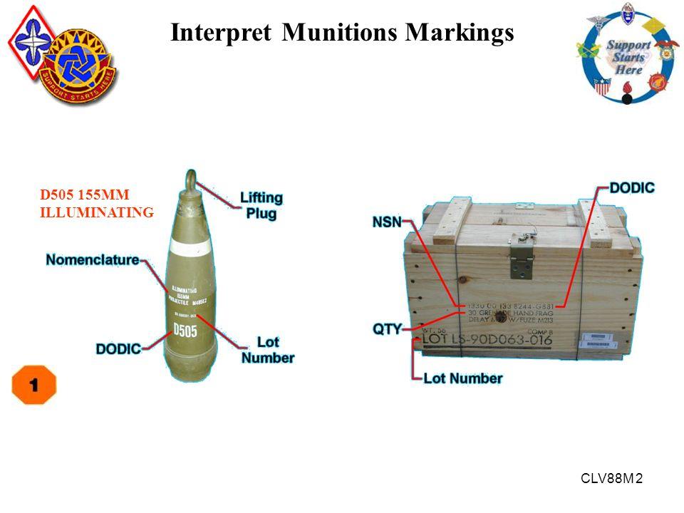 Interpret Munitions Markings