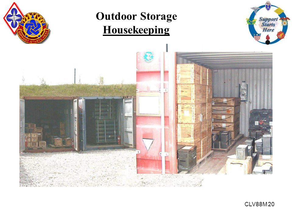 Outdoor Storage Housekeeping
