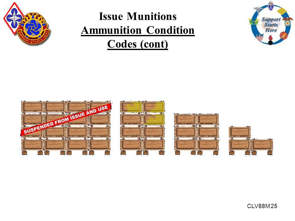 Ammunition Condition Codes (cont)