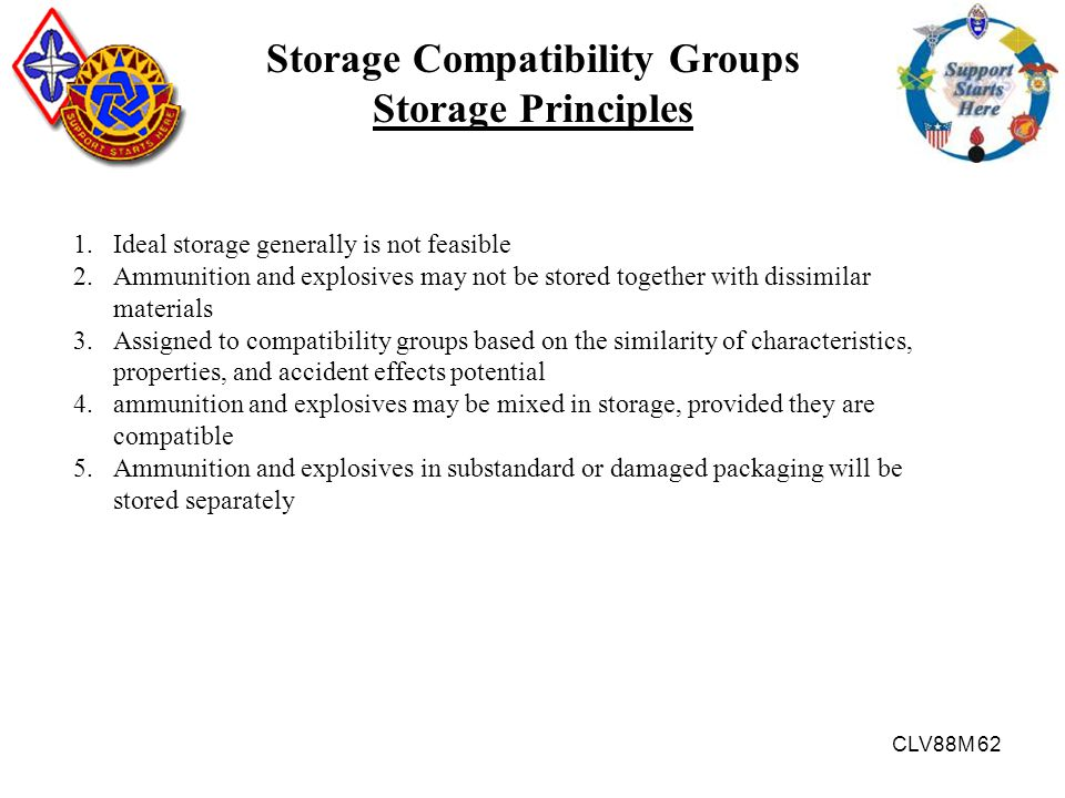 Storage Compatibility Groups