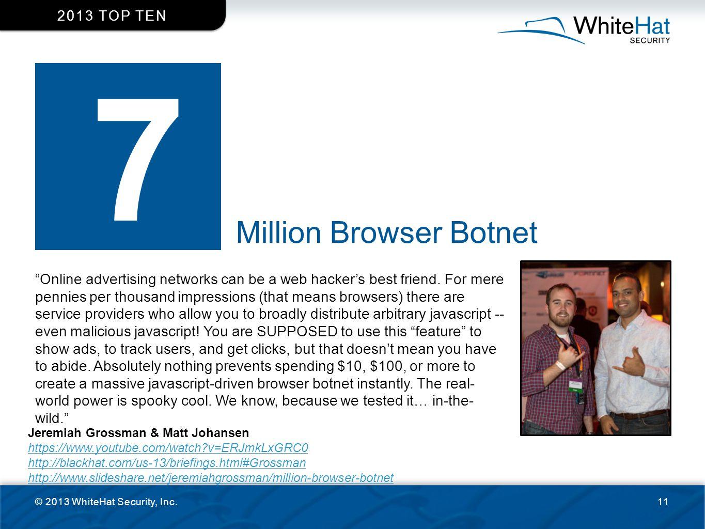 7 Million Browser Botnet