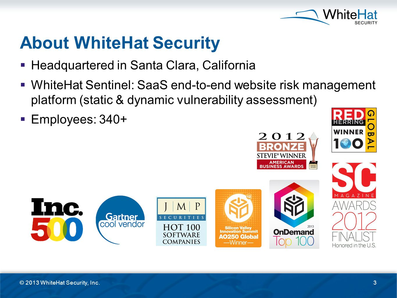 About WhiteHat Security