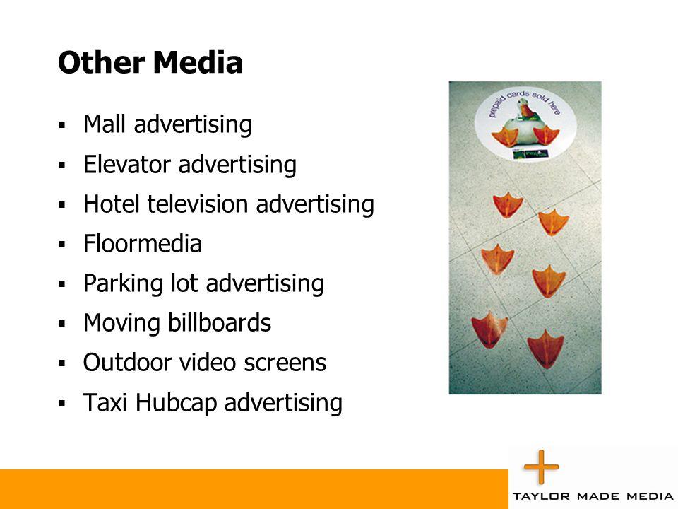 Other Media Mall advertising Elevator advertising