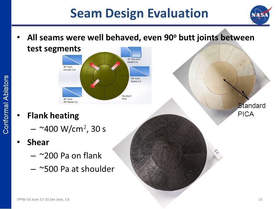 Seam Design Evaluation