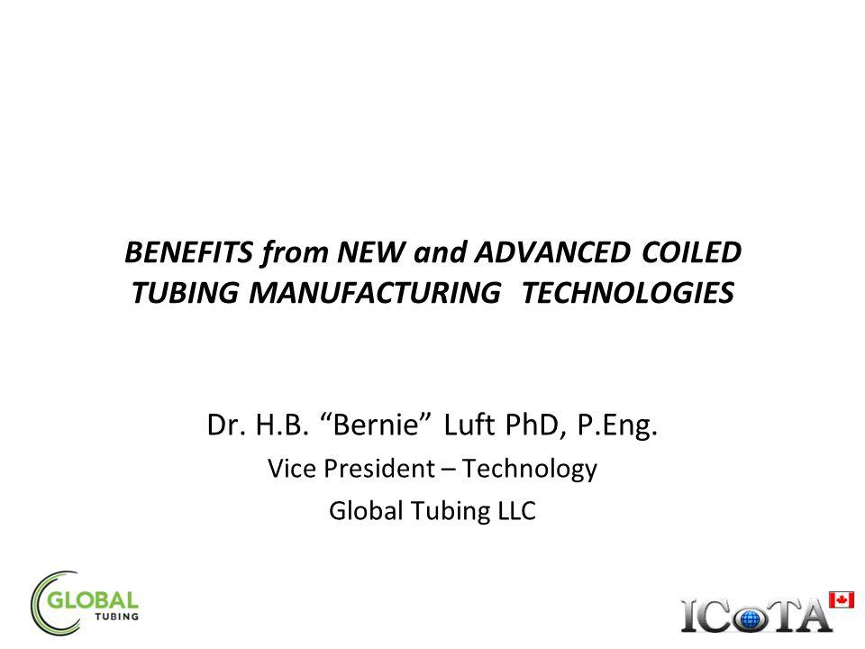 Dr. H.B. Bernie Luft PhD, P.Eng.