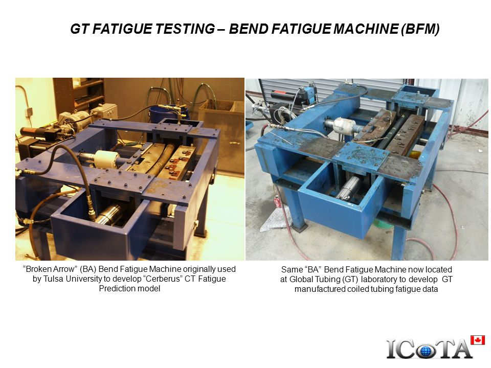 GT FATIGUE TESTING – BEND FATIGUE MACHINE (BFM)