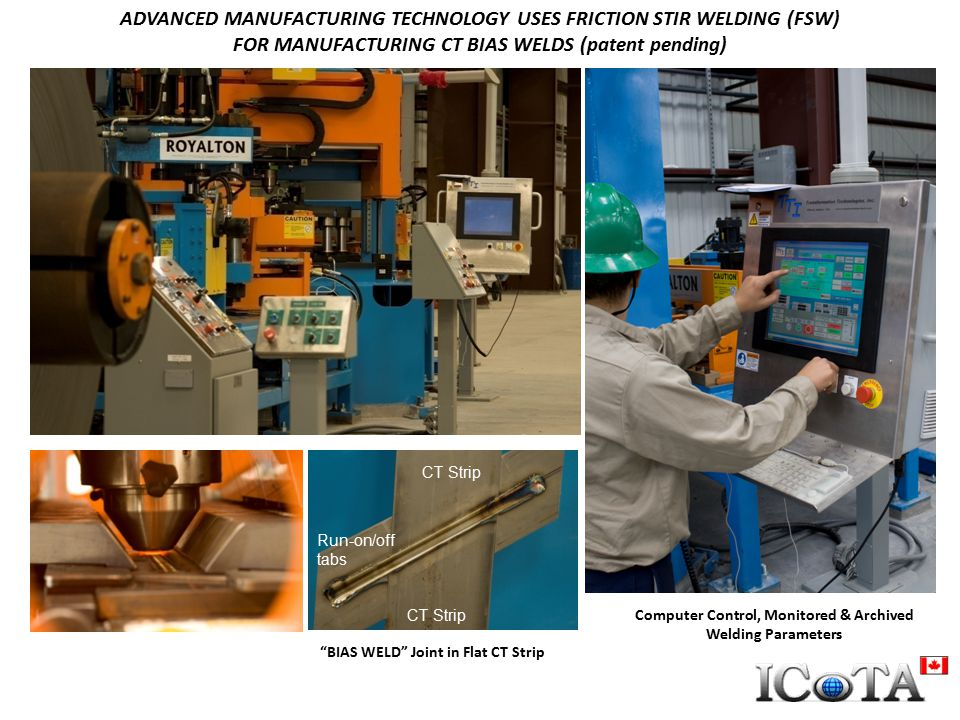 ADVANCED MANUFACTURING TECHNOLOGY USES FRICTION STIR WELDING (FSW)
