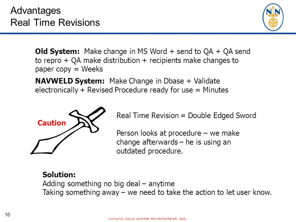 Advantages Real Time Revisions