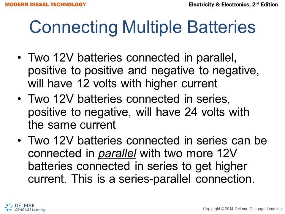 Connecting Multiple Batteries