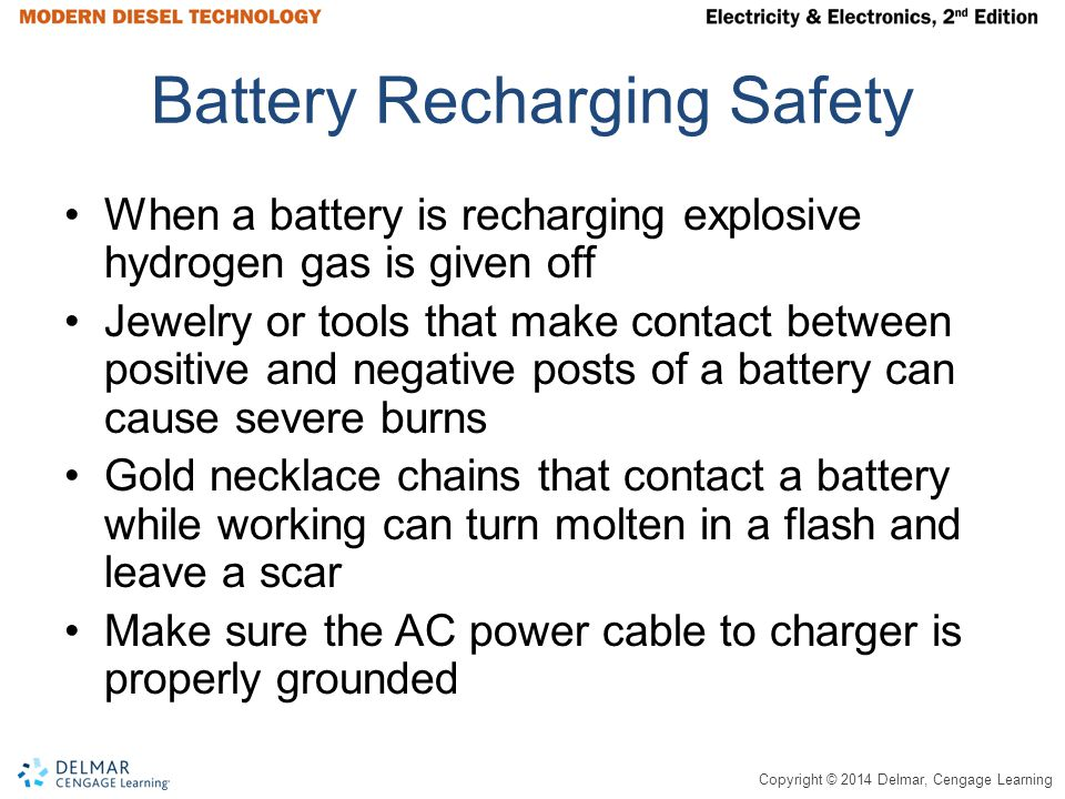 Battery Recharging Safety