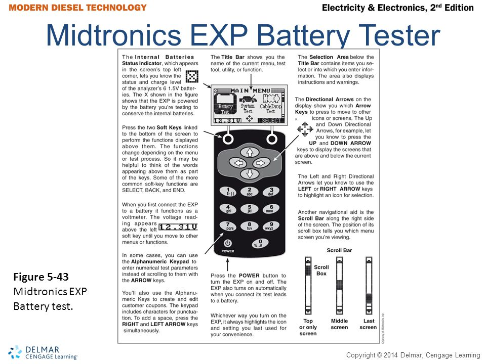 Midtronics EXP Battery Tester
