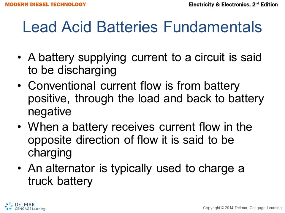 Lead Acid Batteries Fundamentals